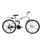 Велосипед Mercedes на литых дисках (складной) Белый
