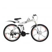 Велосипед BMW X6 на литых дисках (складной) Белый