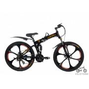 Велосипед Lambagini на литых дисках